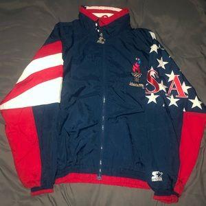 1996 USA Olympics STARTER Jacket